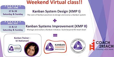 Virtual Kanban System Design- KSD (KMP 1) Weekend Class billets