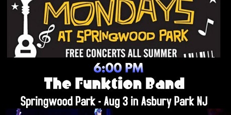 The Funktion Band at Springwood Park August 3rd tickets