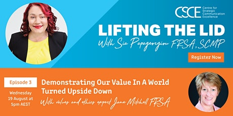 Demonstrating Our Value In A World Turned Upside Down tickets