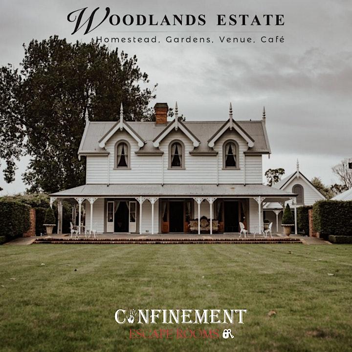 Confinement's Woodlands Escape Evening - Thursday 10th December 2020 image