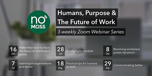 Humans, Purpose and The Future of Work