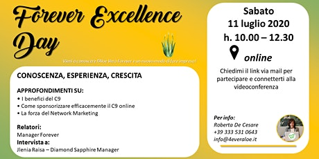 Forever Excellence Day biglietti
