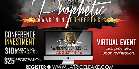 The Prophetic Awakening Conference tickets