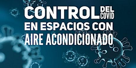 Control del COVID en Espacios con Aire Acondicionado billets