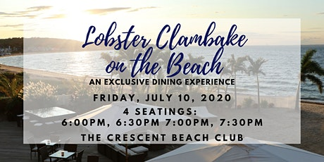 Lobster Clambake on the Beach (Friday 7/10) tickets