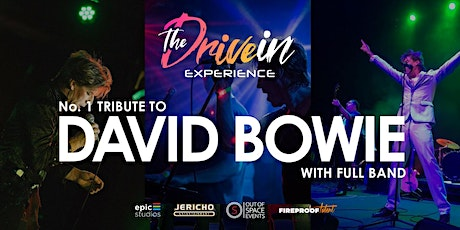 ALADDIN SANE - DAVID BOWIE Tribute at Peterborough Drive-In Experience tickets