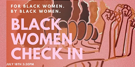 Black Women Check in tickets