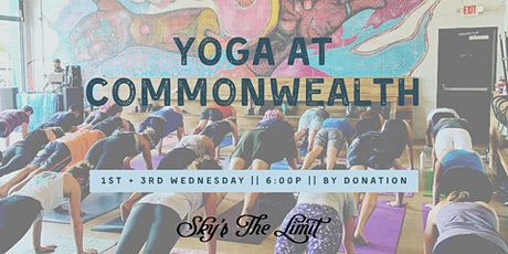 Yoga on Tap - Commonwealth tickets