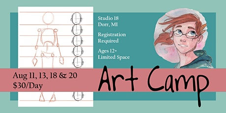 Art Camp - Building Drawing Skills tickets