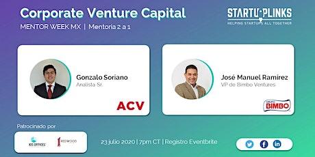 Corporate Venture Capital Mentoring tickets