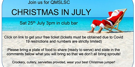 QMSLSC Christmas in July tickets