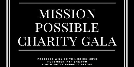 Mission Possible Charity Gala tickets