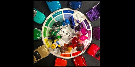 Create + Connect: Chakra Color Wheels Workshop with Edwin Calderon tickets