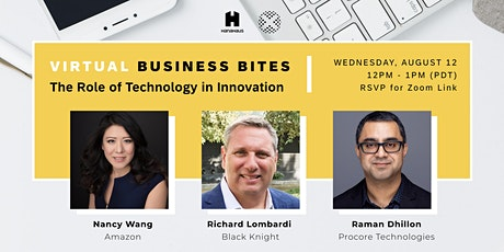 Virtual Business Bites | The Role of Technology in Innovation tickets
