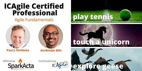 ICAgile Certified Professional - Agile Fundamentals Training - Nov 2020 tickets