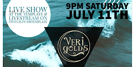 The Verigolds Live @ The Template tickets