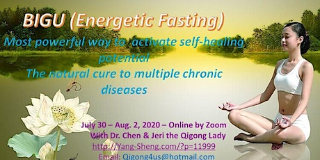 4-Day Online Qigong Bigu (Energetic Fasting)with Dr. Kevin Chen tickets