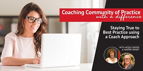 Coaching Community of Practice with a Difference tickets