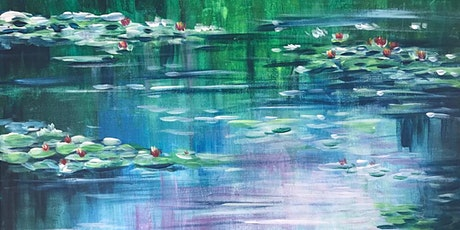 Chill & Paint Saturday Afternoon  Auckland City  - WaterLily Monet Inspired tickets