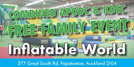 APODC & Ko Taku Reo Inflatable World Event - families with deaf children tickets