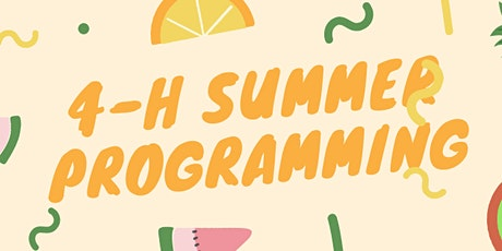 Baltimore County 4-H Summer Programming tickets