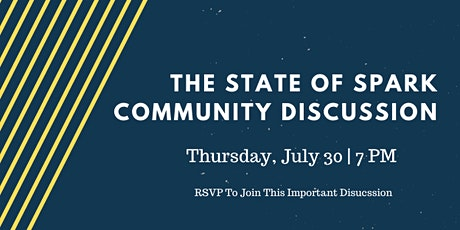 The State of SPARK: A Community Discussion tickets