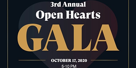 3rd Annual Open Hearts Gala tickets