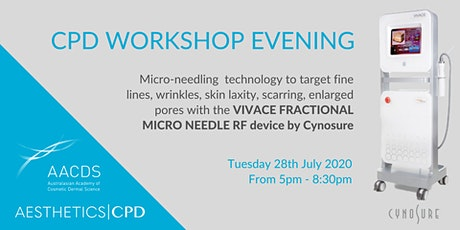 VIVACE FRACTIONAL MICRO NEEDLE RF Workshop Evening July 2020 tickets