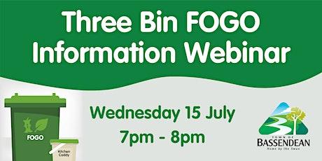Three Bin FOGO Information Session tickets