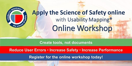 Usability Mapping Online Workshop | 3 hrs a day for 4 days | Timezone AWST tickets