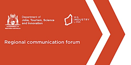 Regional Communication Forum - Broome tickets