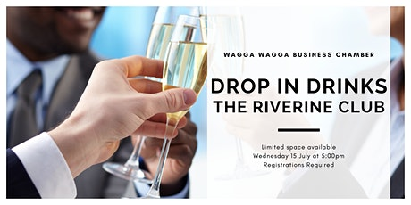 Drop in Drinks at The Riverine Club tickets