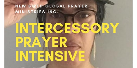 Intercessory Prayer Intensive entradas