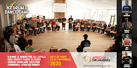 NZ Drum & Dance Camp 2020 tickets