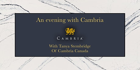 An evening with Cambria; Presented by Tanya Stembridge of Cambria tickets