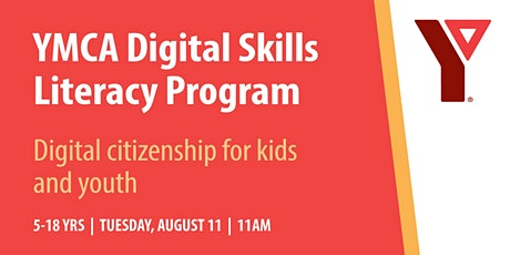 YMCA Digital Literacy:  Digital citizenship for youth and kids tickets