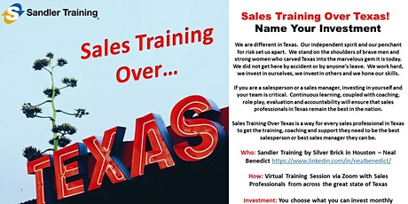 Sales Training Over Texas! tickets
