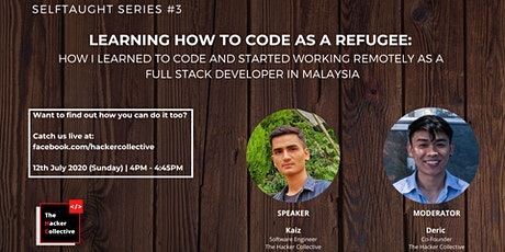 Selftaught Series #3: Learning How To Code As A Refugee In Malaysia tickets