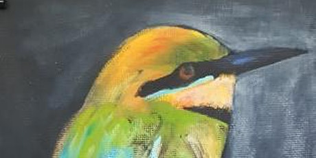 Pop Up Paint Party with NT Flavour - Bee Eater (was the Spangled Drongo) tickets