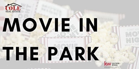 MOVIE IN THE PARK tickets