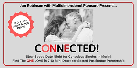 VIRTUAL Slow-Speed Date Night for Spiritual Singles|50s & 60s |Marin County tickets