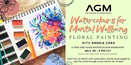 AGM Watercolours for Mental Wellbeing: Florals tickets