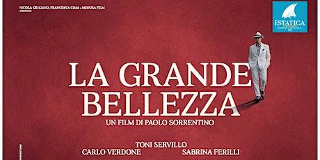 """Cinestatica:  """"La Grande Bellezza"""" – Paolo Sorrentino (Roma) biglietti"""
