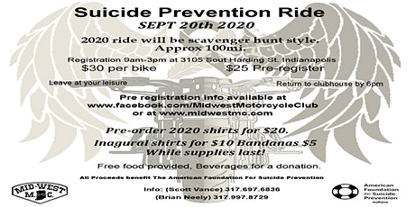2nd Annual Rise Up and Ride to Fight Suicide. tickets