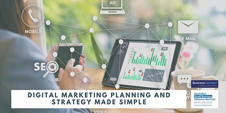 Digital Marketing Planning and Strategy Made Simple tickets