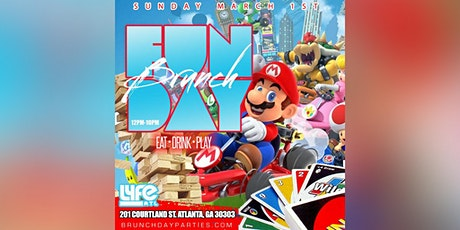 SUN 8.2.20 :: FUNDAY BRUNCH SUNDAYS (EAT × DRINK × PLAY) @ LYFE AT tickets