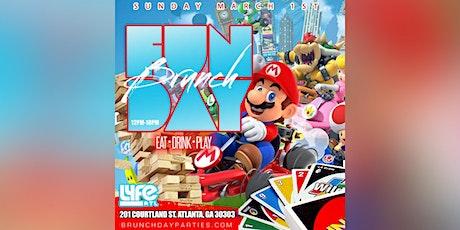 EVERY 1ST SUNDAY :: FUNDAY BRUNCH SUNDAYS (EAT × DRINK × PLAY) @ LYFE ATL tickets