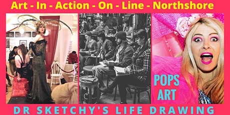 Life-Drawing with Dr Sketchy hosted by Bec Mac  Northshore's Art-In-Action tickets