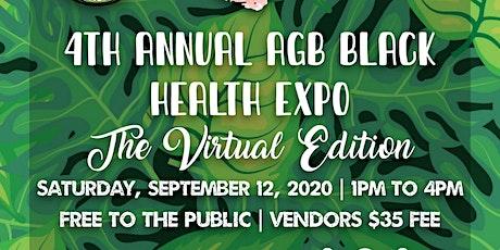 4th Annual AGB Health Expo Virtual Edition tickets