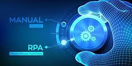 Webinar: Programa de formación en RPA–Robotic Process Automation LUNES 27/7 entradas
